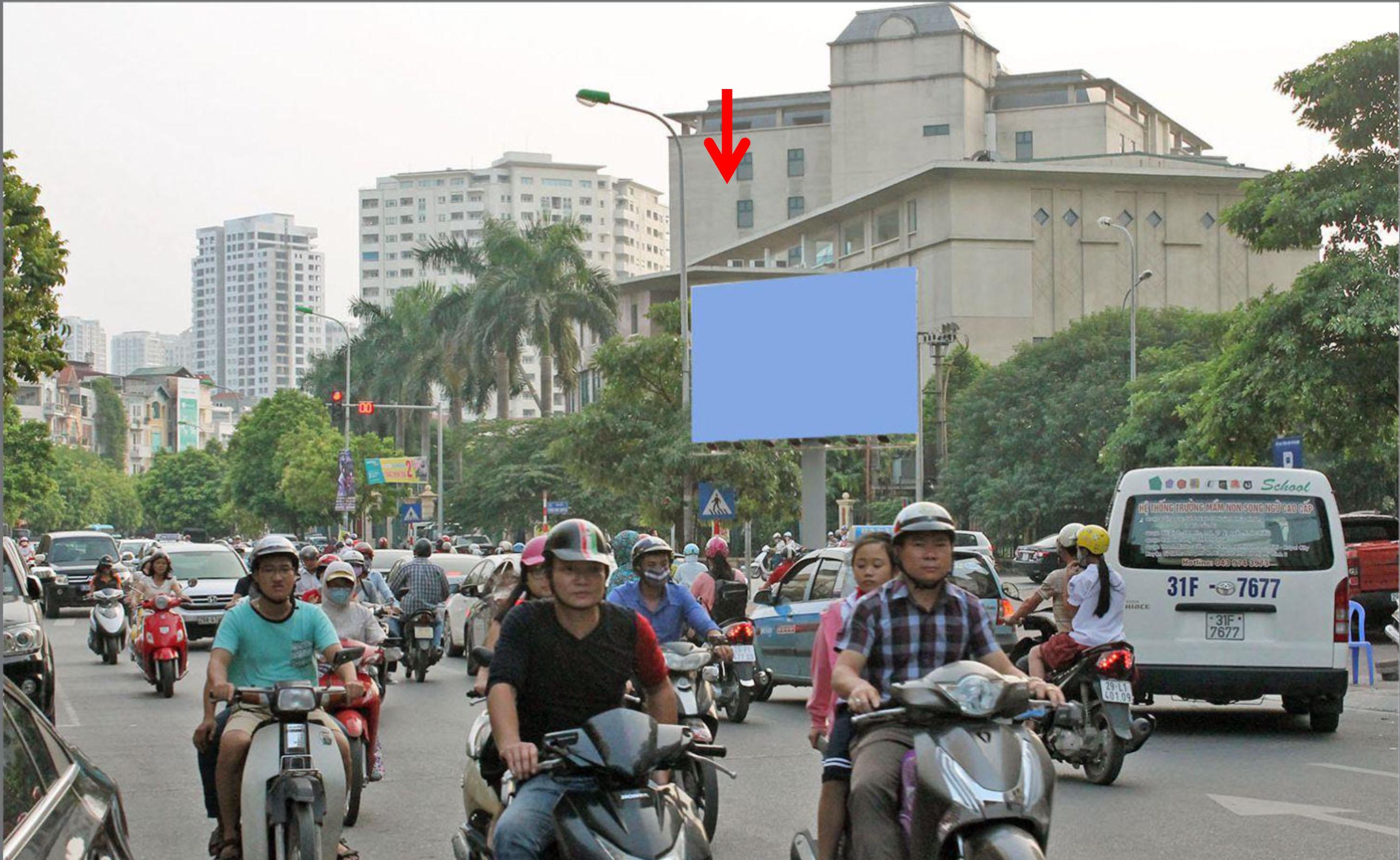 Ngã tư Vũ Phạm Hàm - Trung Hòa, Q.Cầu Giấy, Hà Nội