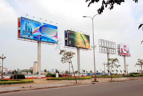 Quy trình lắp đặt biển quảng cáo ngoài trời