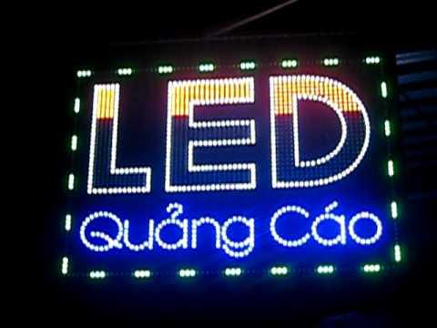 Hướng dẫn tự làm bảng quảng cáo đèn led chi tiết nhất