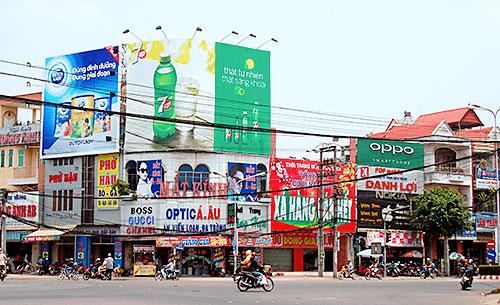 Ma trận biển quảng cáo tại Đồng Nai