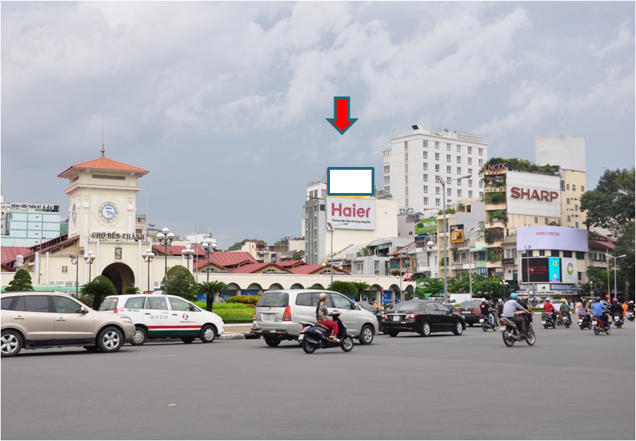 VÒNG XOAY CHỢ BẾN THÀNH (Vòng xoay Quách Thị Trang)