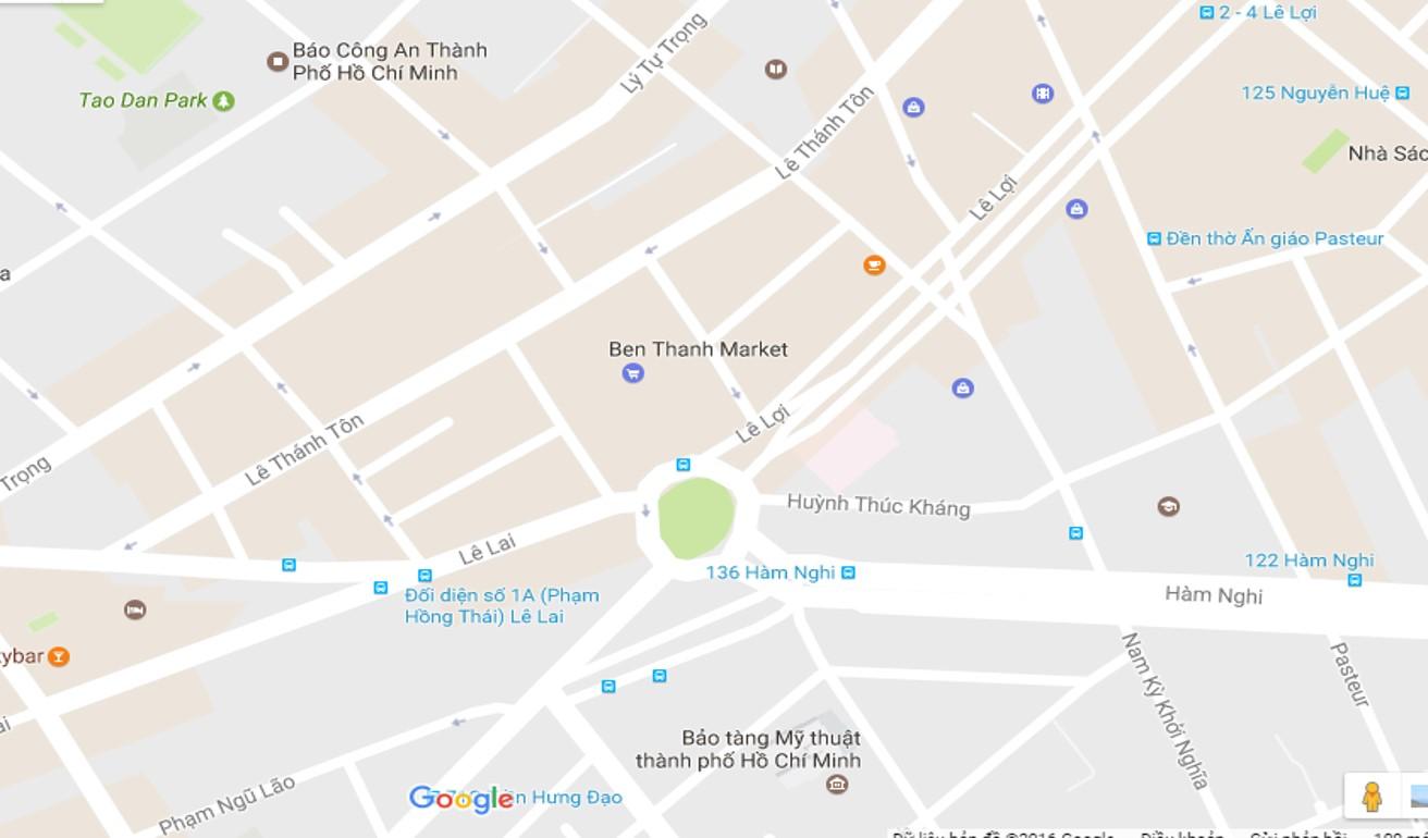 VÒNG XOAY CHỢ BẾN THÀNH-HCM-Q1-023