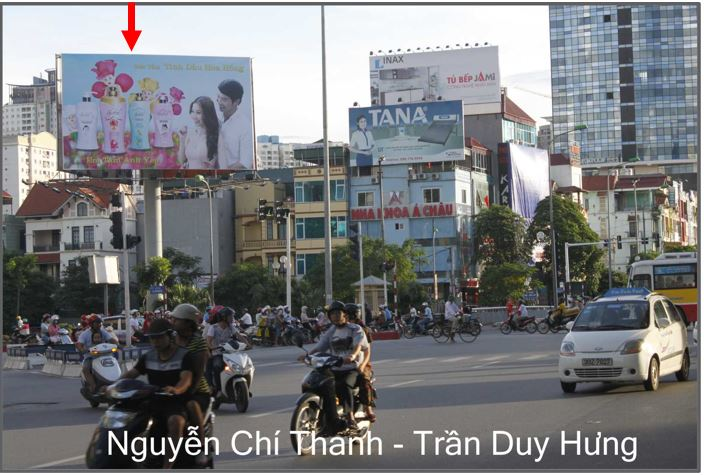 VỊ TRÍ BẢNG QUẢNG CÁO TẠI CẦU TRUNG HÒA-HN-DD-038