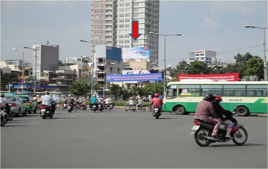 Vòng Xoay Chợ Bến Thành + Hàm Nghi