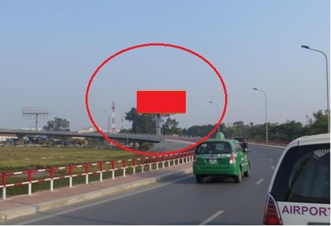 Cầu dẫn lên sảnh Ga T1 – Sân bay Nội Bài - vị trí số 12 Hướng từ đường cao tốc lên cầu dẫn-HN-048