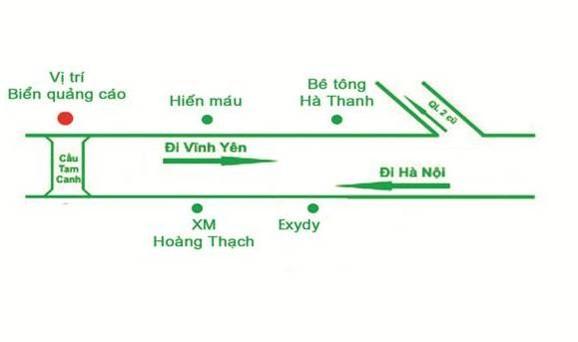 QUỐC LỘ 2 CẦU TAM CANH – BÌNH XUYÊN – VĨNH PHÚC-HN-051